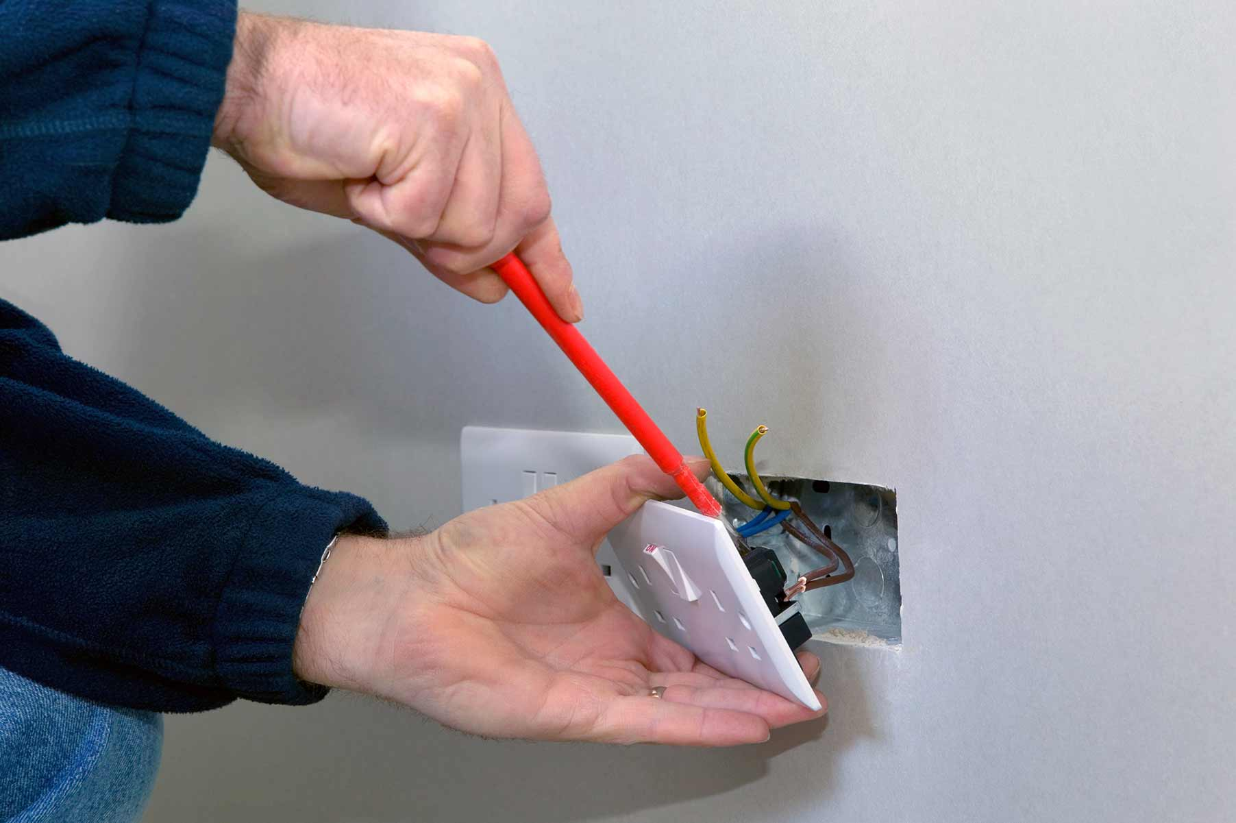 Our electricians can install plug sockets for domestic and commercial proeprties in Dalston and the local area.